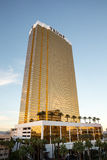 Vista drammatica dell'hotel internazionale di Trump Immagine Stock