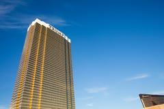 Vista drammatica dell'hotel internazionale di Trump Fotografie Stock Libere da Diritti