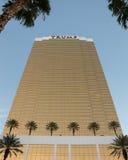 Vista drammatica dell'hotel internazionale di Trump Fotografia Stock Libera da Diritti