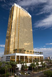 Vista drammatica dell'hotel internazionale di Trump Immagini Stock