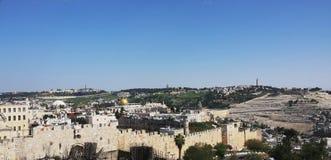 Vista eccezionale Gerusalemme Immagine Stock Libera da Diritti