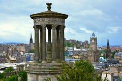 Vista Edimburgo Scozia Fotografie Stock Libere da Diritti