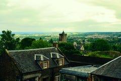 Vista Edimburgo Scozia Immagini Stock