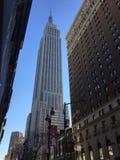 Vista el Empire State Fotografía de archivo libre de regalías