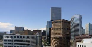 Vista elevada de Denver Fotos de archivo