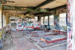 Vista em: Abandonado Fotografia de Stock