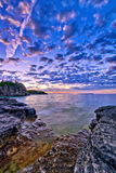 Vista em Bruce Peninsula foto de stock royalty free