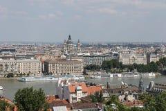 Vista em Budapest Fotos de Stock