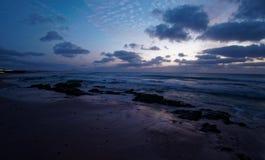 Vista em Cabo Verde, paisagem da boa da ilha - beira-mar fotos de stock