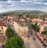 Vista em Chernivtsi imagens de stock