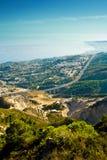 Vista em cima de Benalmadena Fotografia de Stock
