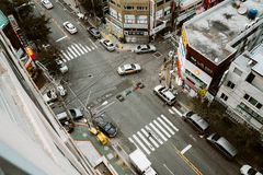Vista em Coreia Imagens de Stock Royalty Free