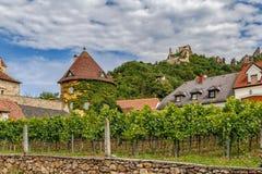 Vista em Durnstein, Áustria fotografia de stock royalty free