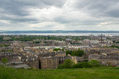 Vista em Edimburgo fotografia de stock royalty free