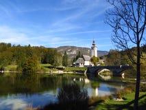 Vista em Eslovênia Foto de Stock