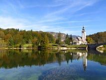 Vista em Eslovênia Fotos de Stock