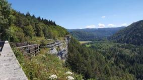 Vista em França Foto de Stock Royalty Free