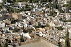 Vista em Granada Imagem de Stock