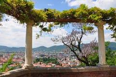 Vista em Graz, Áustria Imagem de Stock Royalty Free