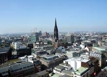 Vista em Hamburgo Foto de Stock