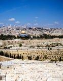 Vista em Jerusalem Imagem de Stock