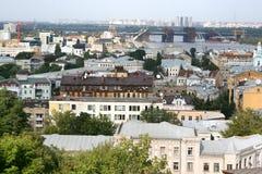 Vista em Kiev foto de stock