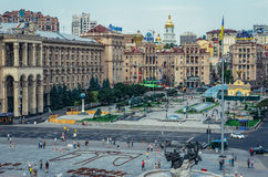 Vista em Kiev Fotos de Stock Royalty Free