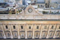 Vista em Milão da catedral, Itália Fotografia de Stock Royalty Free