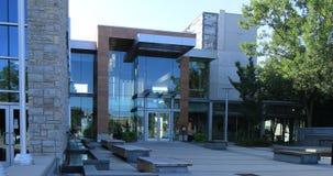 Vista em Milton Town Hall, Ontário, Canadá 4K video estoque