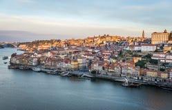 Vista em Porto Imagem de Stock Royalty Free