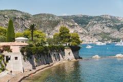 Vista em Saint Jean Cap Ferrat france Fotografia de Stock