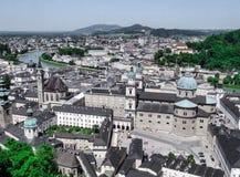 Vista em Salzburg Fotos de Stock Royalty Free
