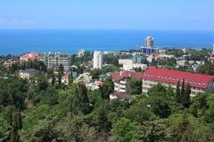 Vista em Sochi Imagens de Stock Royalty Free