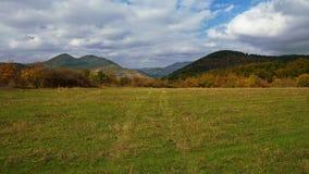 Vista em Stara Planina fotografia de stock