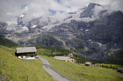Vista em Suíça Foto de Stock