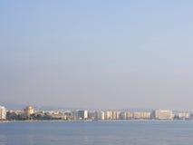 Vista em Tessalónica Grécia Imagem de Stock