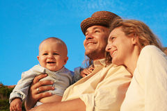 Vista em um futuro brilhante Fotos de Stock Royalty Free