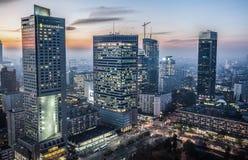 Vista em Varsóvia Fotografia de Stock Royalty Free