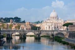 Vista em Vatican fotos de stock