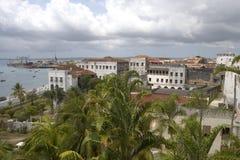 Vista em Zanzibar Foto de Stock