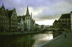 Vista en Gante imágenes de archivo libres de regalías