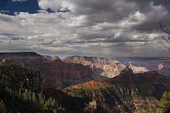 Vista Encantada Overlook A. T the N north Rim of the Grand Canyon, Arizona Royalty Free Stock Photos