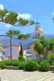 Vista encantador da cidade de Argostoli Foto de Stock Royalty Free