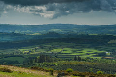 Vista on english countryside Stock Images
