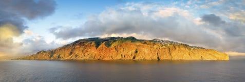 Vista escénica de la isla de Madeira Fotos de archivo libres de regalías