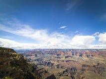 Vista escénica de la salida del sol en el parque nacional de Grand Canyon, Arizona, los E.E.U.U. Foto de archivo libre de regalías