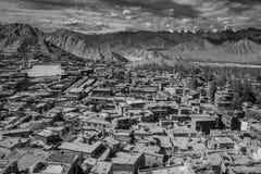 Vista escénica de Leh Foto de archivo