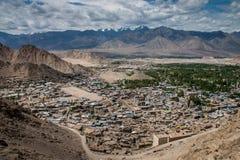Vista escénica de Leh Imagenes de archivo