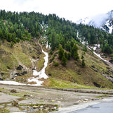 Vista escénica de Naran Kaghan Valley, Paquistán Imágenes de archivo libres de regalías