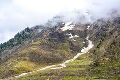 Vista escénica de Naran Kaghan Valley, Paquistán Fotografía de archivo libre de regalías